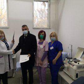 Областният кризисен щаб в Пловдив ще подпомага разпределението на кръвна плазма между болниците за лечение на пациенти с COVID -19