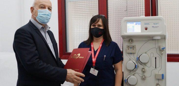 Стара Загора вече има апарат за извличане на кръвна плазма СНИМКИ