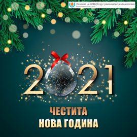 Здрава и успешна 2021 година!