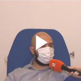 Видео с Димитър Йонов – дарил 8 пъти реконвалесцентна плазма
