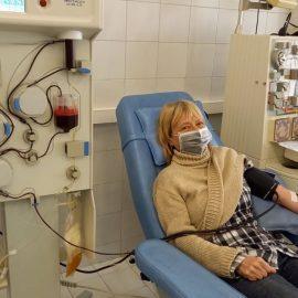 Павлина Михайлова  – първо даряване