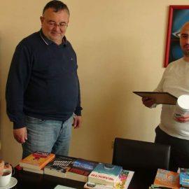 Грамота и протеини за Димитър Йонов