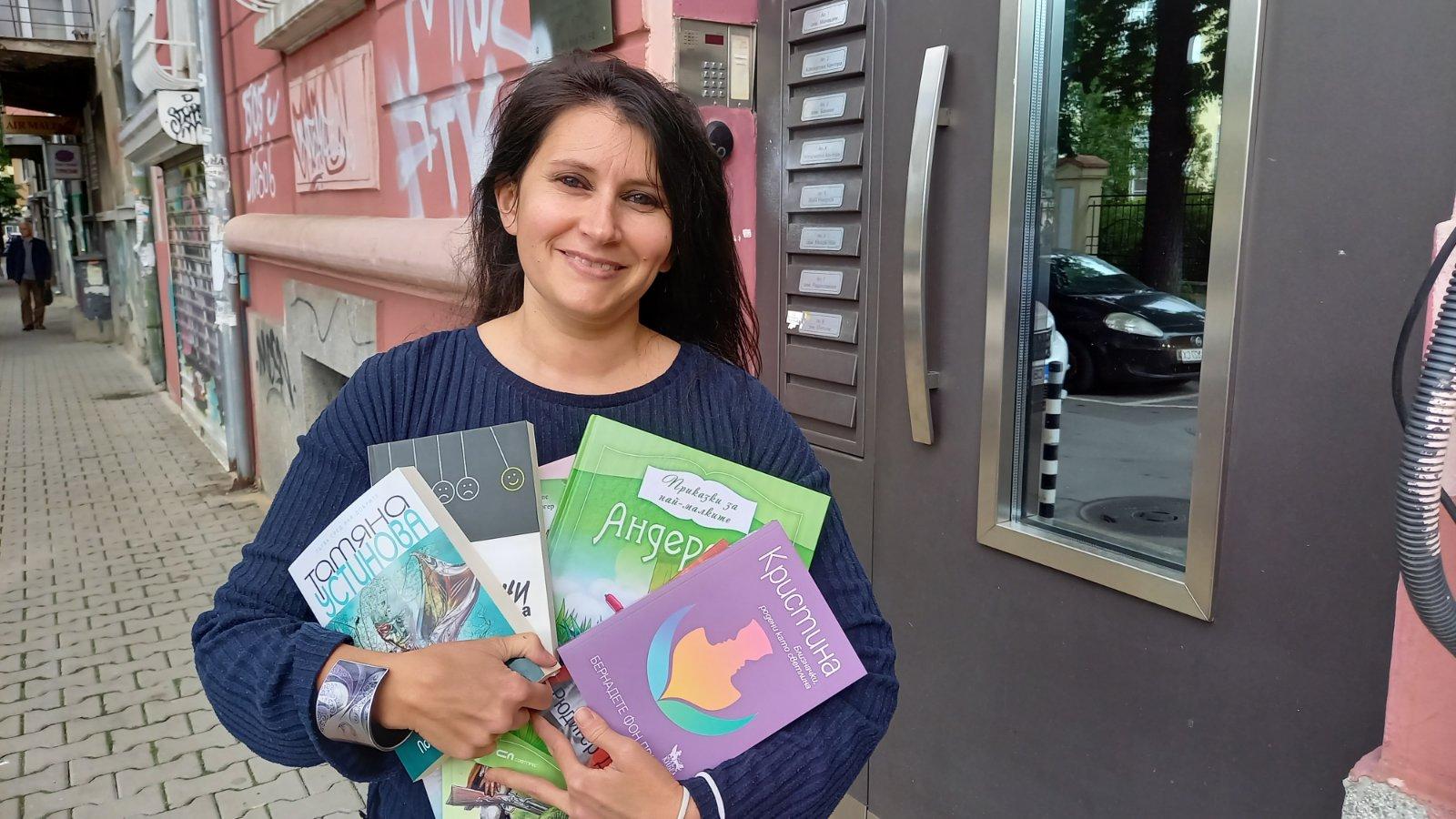 Преводачи подариха книги на Сдружението