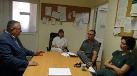 Среща с лекари в МБАЛ – Димитровград